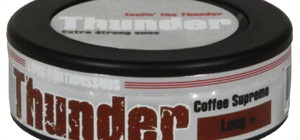 Thunder Extra Strong LONG+ Coffee Supreme Snus Review